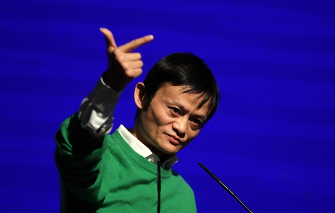 Tsinghua Innovation Forum In Beijing...BEIJING, CHINA - APRIL 19:  (CHINA OUT) Jack Ma, chairman and CEO of Alibaba Group, speaks at the Tsinghua Innovation Forum at Tsinghua Science Park (TusPark) on April 19, 2011 in Beijing, China. The Tsinghua Innovation Forum is a part of Tsinghua University Centenary Celebrations, which held by Tsinghua University and Development Research Centre of the State Council.  (Photo by ChinaFotoPress/Getty Images)