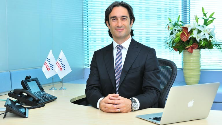 Cisco Türkiye Genel Müdürü Cenk Kıvılcım