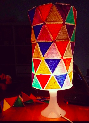 Artistic-3Doodled-Lampshade