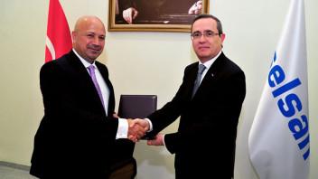 Turkcell Genel Müdürü Kaan Terzioğlu ve Aselsan Genel Müdürü Dr. Faik Eken