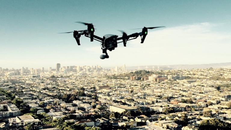 Şahinler drone avlayacak