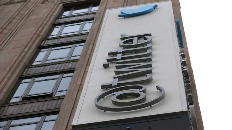 FILE - FEBRUARY 5: Twitter is set to announce its fourth quarter earnings on February 5, after the market close. SAN FRANCISCO, CA - FEBRUARY 05:  A sign is posted on the exterior of the Twitter headquarters on February 5, 2014 in San Francisco, California.  Twitter reported fourth quarter revenue of $242.7 million, beating analysts expectations $217.82 million in revenue in their first quarterly report. (Photo by Justin Sullivan/Getty Images)