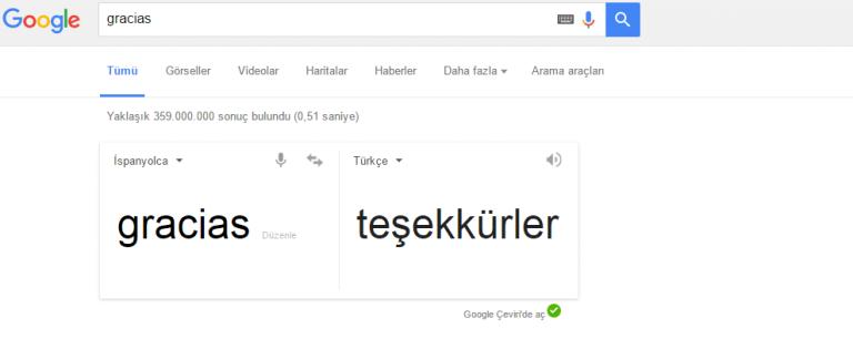gracias   Google da Ara