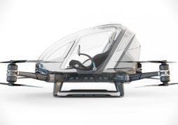 Dubai'de drone'lar insan taşımaya başlıyor