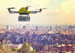 Çin'de drone'la yemek teslimatı başladı