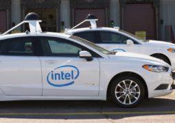 Intel otonom araç filosu kuruyor