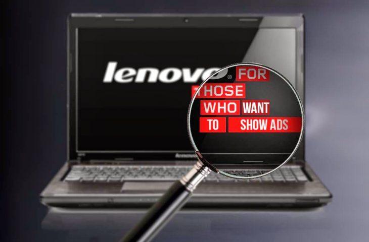 Lenovo adware