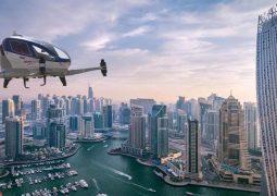 Dubai drone taksileri test etmeye başladı