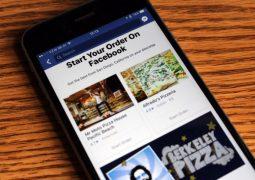 Facebook yemek siparişi işine giriyor