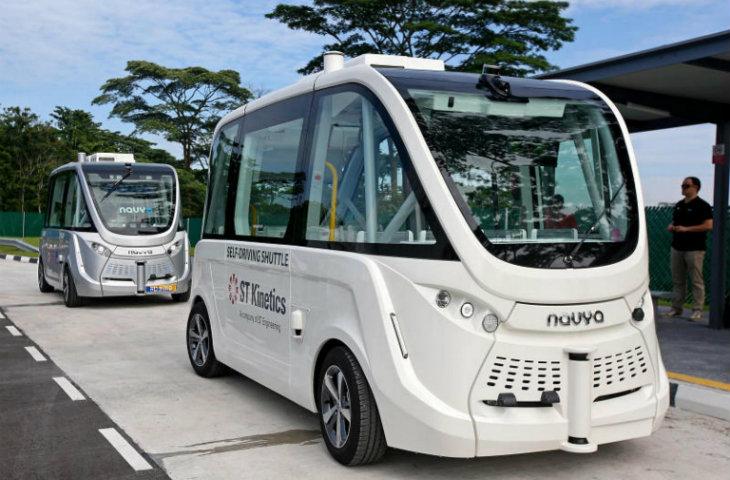 Sürücüsüz otobüsler