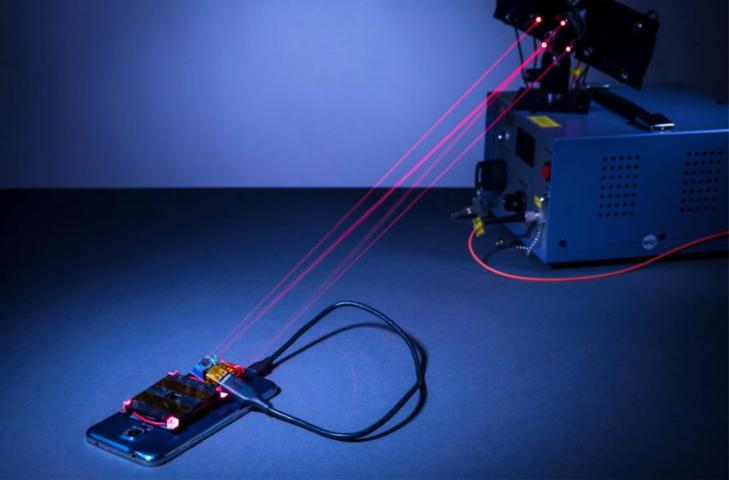 Lazer ışını ile kablosuz şarj mümkün Teknoloji Haberleri