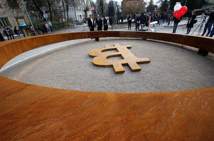 Blockchain anıtı Slovenya'da inşa edildi