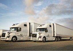 Otonom kamyonlar ile sevkiyat yapıyor
