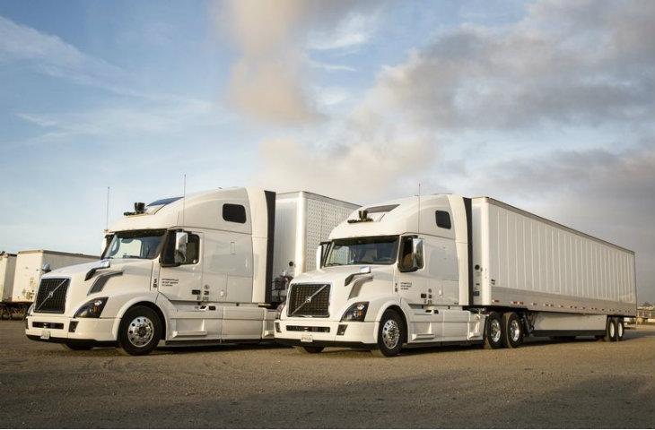 Otonom kamyonlar
