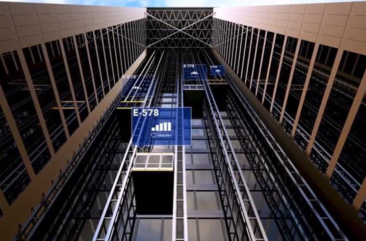 Akıllı asansör