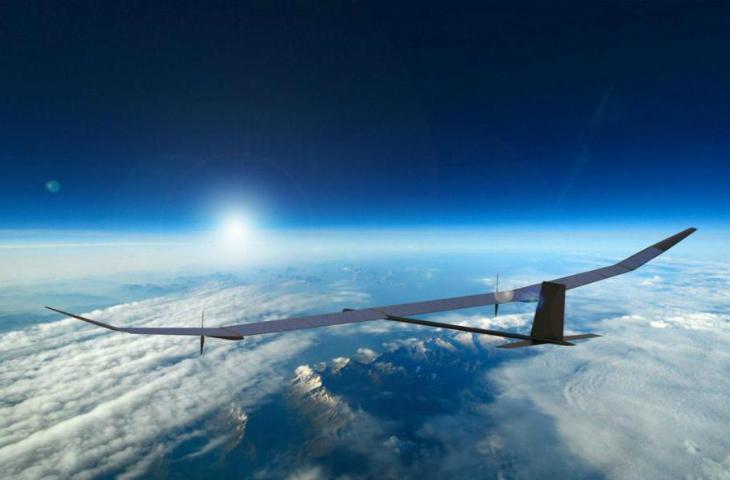 Güneş enerjili drone