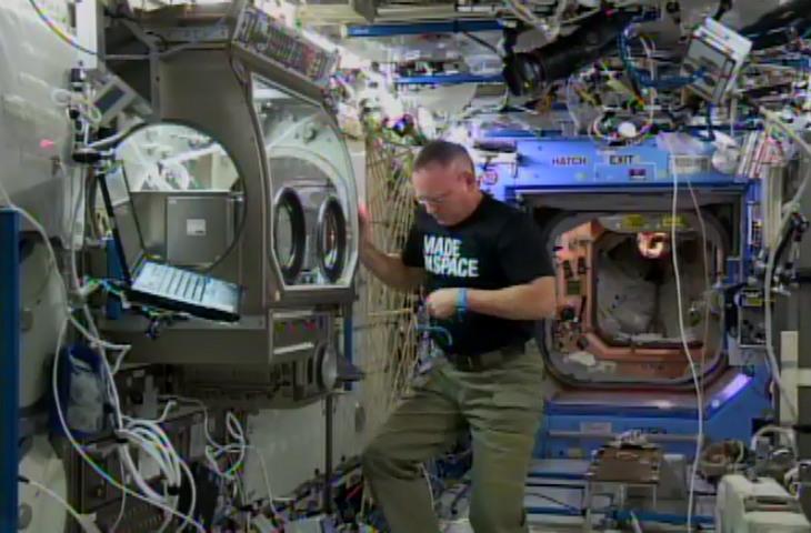 Uzay için 3D baskı