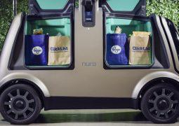 Market siparişi için eve teslim robotu geliyor