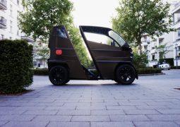 tek kişilik elektrikli araba