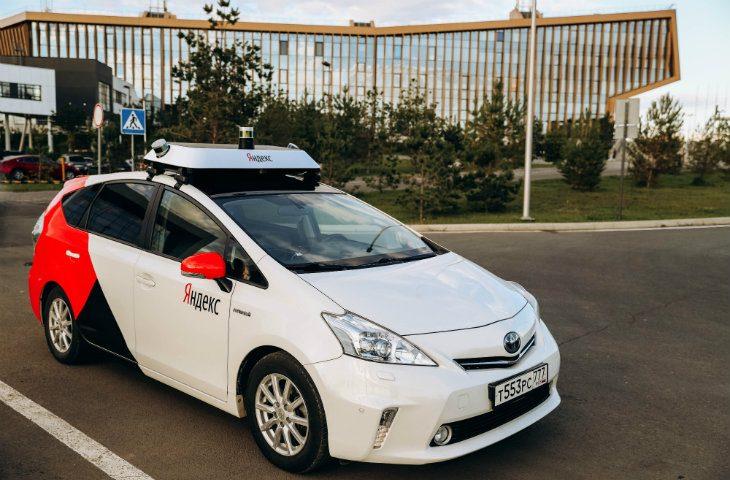 Yandex otonom araç