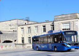 havayı temizleyen otobüs