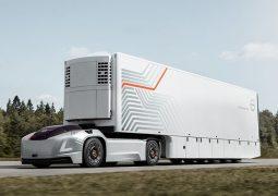 sürücüsüz kamyon