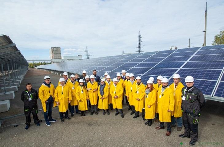 Çernobil yenilenebilir enerji