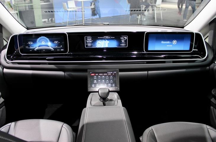 otomobil kontrol paneli