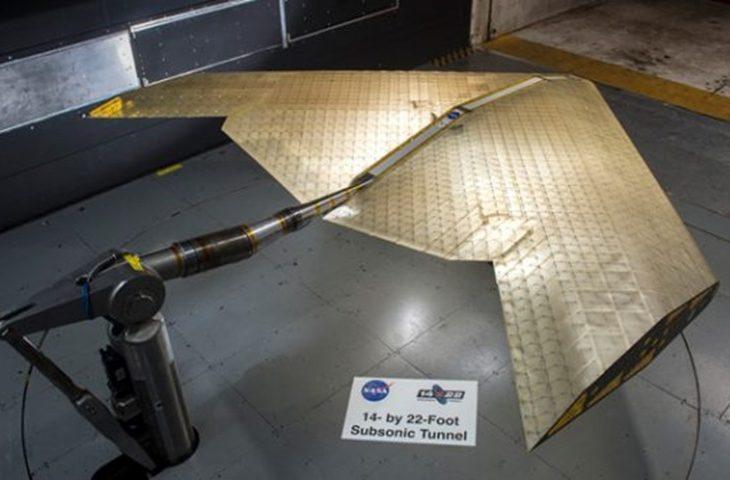 Şekil değiştirebilen uçak kanadı