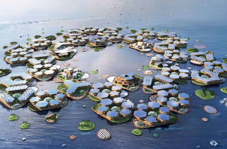 yüzer şehirler