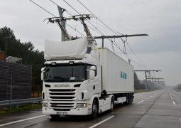 Almanya elektrikli otoyolu test ediyor