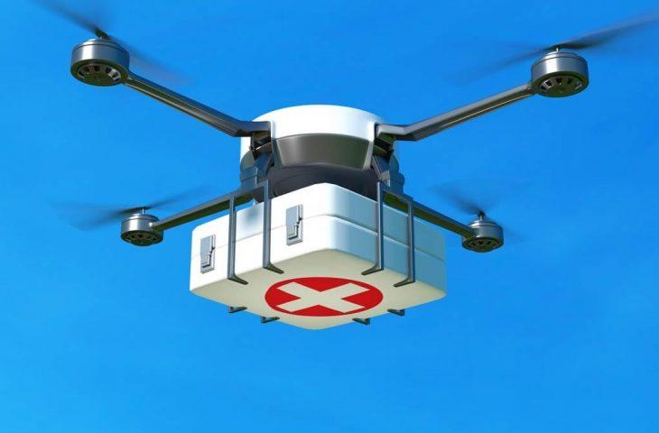 Drone ile ilk yardım