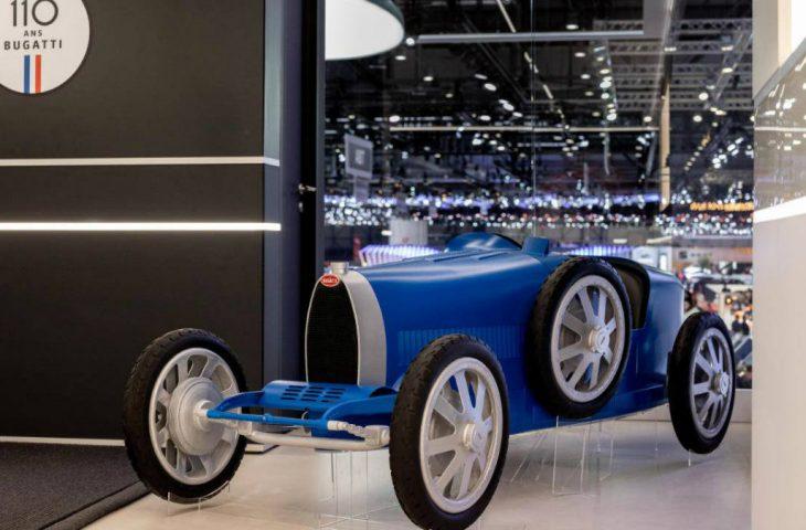 Bugatti elektrikli çocuk arabası