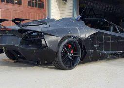 3D yazıcı ile Lamborghini Aventador üretildi