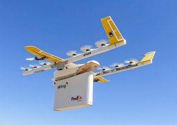 Teslimat drone'u kullanılmaya başlandı