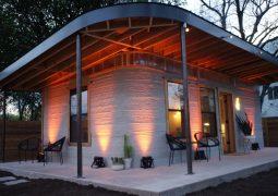 3D yazıcı ile ev üretildi!