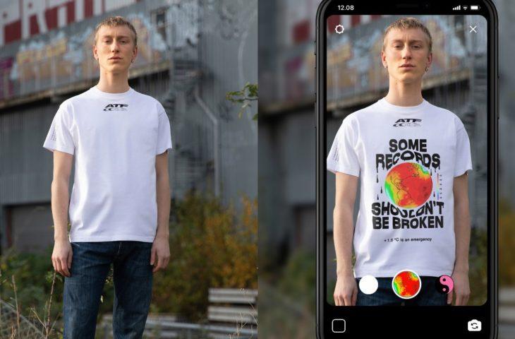 Artırılmış gerçeklik tişörtü