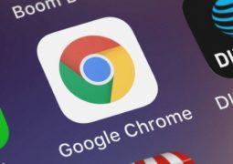 Chrome için mavi ekran