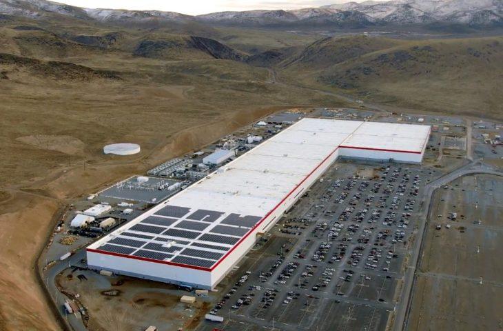 Yeni Tesla Gigafactory