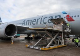 American Airlines kargo