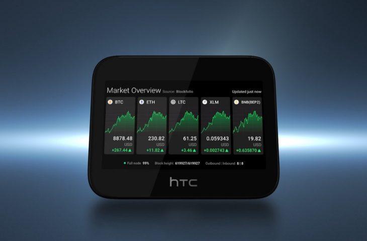 HTC kripto para