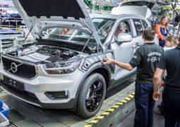 Volvo fabrikaları üretime ara veriyor