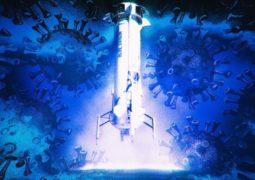 Blue Origin çalışanları koronavirüse yakalandı