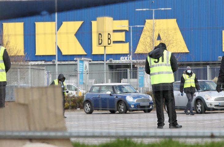 IKEA maske ve dezenfektan