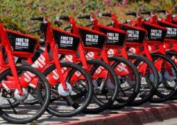 Uber binlerce bisikleti geri dönüşüme gönderdi
