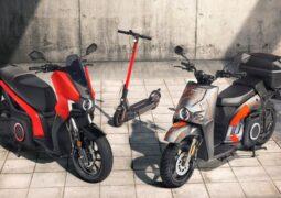 Seat elektrikli motosiklet