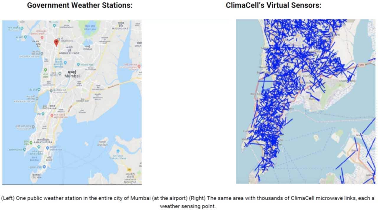 ClimaCell hava durumu tahmini projesi