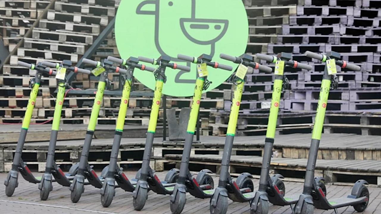 Elektrikli scooter kiralama şirketi MARTI