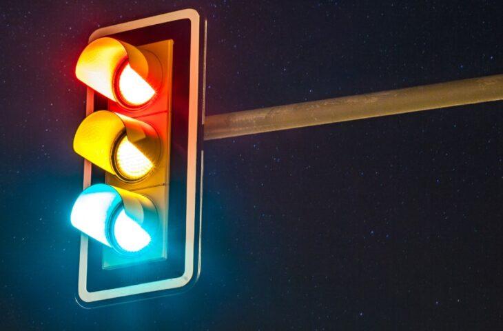 Google Haritalar trafik ışıkları