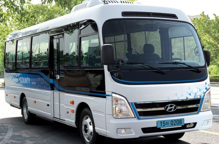 Hyundai elektrikli minibüs